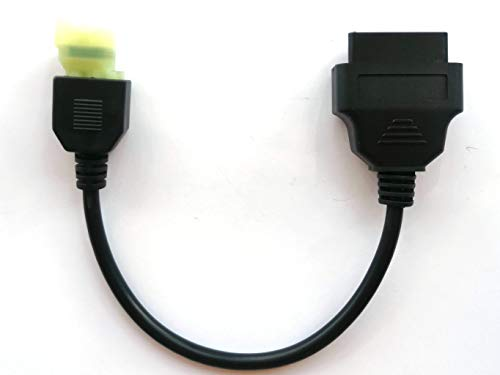 OTKEFDI Motorbike OBD Adapter, Motorcycle 4 Pin Diagnostic OBD2 (K-Line) J1962 Connector for Honda Motorbike
