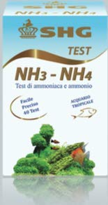 SHG Test ammoniaca e ammonio NH3 NH4