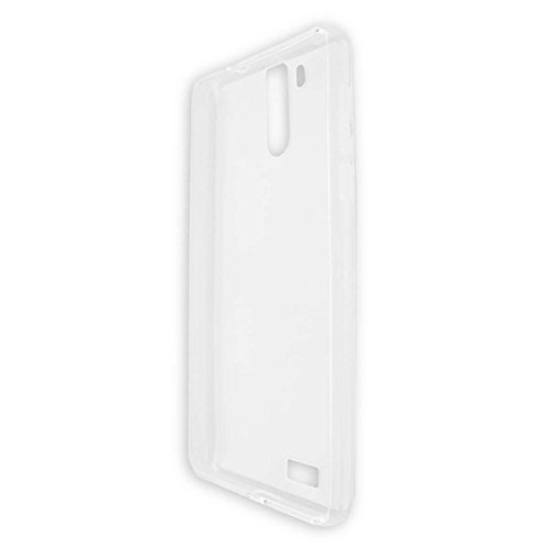 caseroxx TPU-Hülle für Oukitel K6000 Pro, Handy Hülle Tasche (TPU-Hülle in transparent)