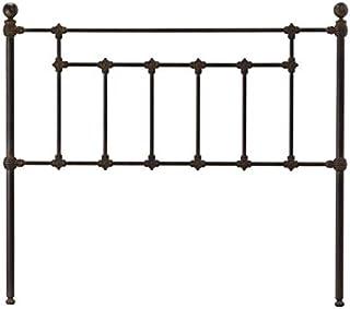 Hogares con Estilo - Cabecero Forjado artesanalmente en España Modelo Antiguo para Cama de 90 cms. Color 6
