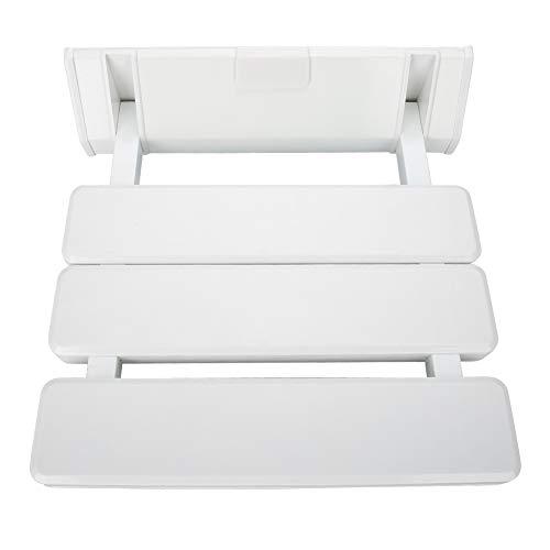 Klappbarer Duschhocker für die Wand, mit rutschfestem ABS-Kunststoff, zusammenklappbar, für Erwachsene oder Ancianos