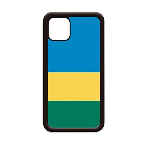 Rwanda Nationale Vlag Afrika Land voor Apple iPhone 11 Pro Max Cover Apple mobiele telefoonhoesje Shell, for iPhone11