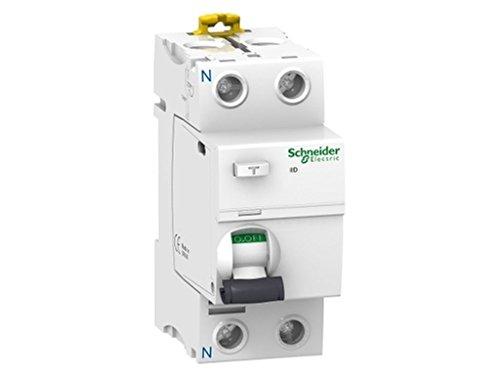 Schneider Electric A9R61225 Interruptor Diferencial iID, 2P, 25A, 30 mA, Clase A SI