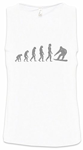 Urban Backwoods Snowboard Evolution Heren Tank Top Training Gym Shirt