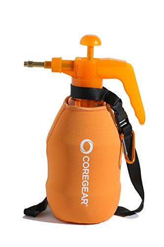 CoreGear (ULTRA COOL XL) USA Misters 1.5 Liter Personal Pump Water Mister & Sprayer With Full Neoprene Jacket (Orange)