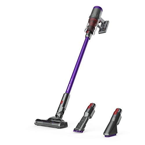 PRIXTON Thor - Aspiradora/Aspirador sin Cable para el Hogar de 11Kpa Aspirador Vertical y de Mano 2 en 1, 650 ml, Filtro Hepa, Incluye Cepillo Motorizado y Boquilla para Esquinas