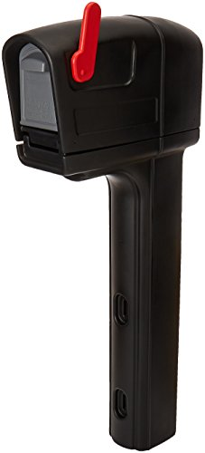 Step2 533800 MailMaster Trimline Mailbox, Black