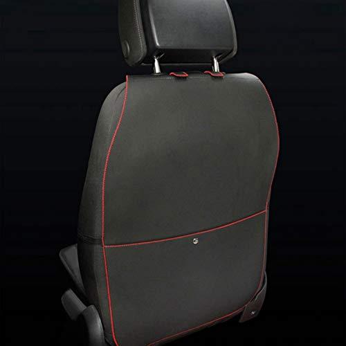 HCMAX 2 Pack Premio Tappetini Proteggi Sedile Anteriore per Auto Kick Mat...