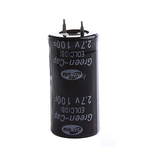 Price comparison product image TX-CONSUMER 2Pcs Super Capacitor 2.7V 100F Ultra Capacitor Farad New Nov01 Drop Ship