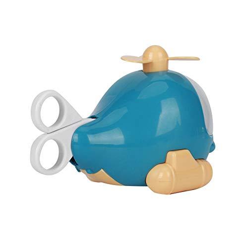Juguete de educación temprana, tamaño pequeño y ligero, funciones completas, juguete de papelería, lindo y con personalidad, modelo de avión, apariencia para niños, baño, hogar, bebé(blue)