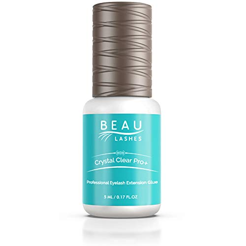 Crystal Clear Bonding Adhesive for Colored Semi-permanent Lash Extensions