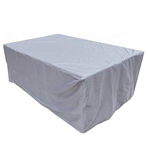 NBVCX Accesorios para el hogar 244x244x30cm Fundas para Muebles de jardín Funda Impermeable para Muebles de Patio Impermeable/A Prueba de Polvo/U Funda de terraza Resistente para Mesa y Silla de Jard