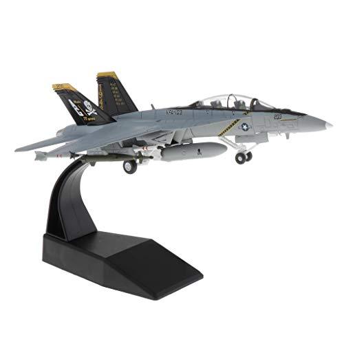 lahomia 1: 100 F / a-18 Strike Diecast Modelo Militar Avión Y Soporte de Exhibición Decoración del Hogar