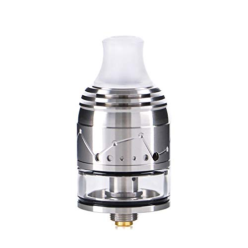Vapefly Galaxies MTL Squonk RDTA flavor vaporizer fit squonk box mod with BF pin Kein Nikotin, keine E-Flüssigkeit (Siber)