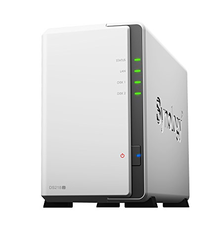 Synology DS218J/20TB-IW 2 Bay NAS -