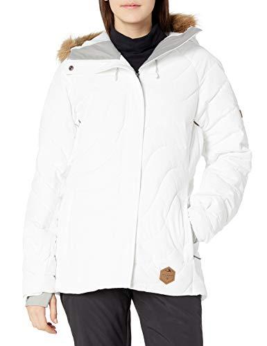 Billabong Damen JSNJGNOM Daunenalternative, Oberbekleidung, Mantel, bright white, Large