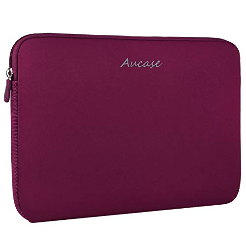 Aucase 11.6-12.5 Inch Laptop Sleeve, Thickest Lightest Water Resistant Neoprene Protective Laptop Case