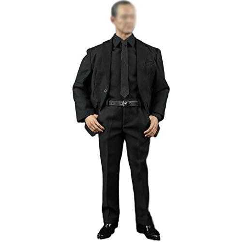 LTLGHY 1/6 Juego De Disfraz De Sin Costuras, Man'S Gentleman Suit Conjuntos De Ropa para 12 Pulgadas Male Seamless Body
