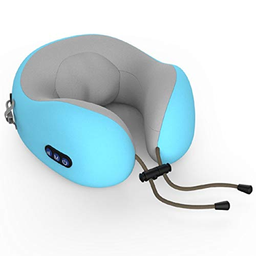 Viajes cuello almohada aviones de espuma de memoria almohada y lavable a máquina cuello cubierta suave transpirable y el apoyo de la mandíbula 360 gris Para apoyar el cuello en cualquier posición sent