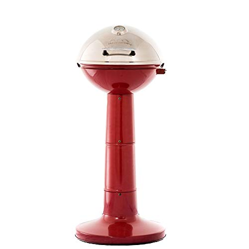 MiToo 20150414R Master Built Electric Veranda Grill, Red