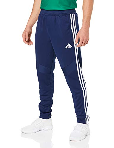 adidas Herren TIRO19 TR PNT Sport Trousers, Dark Blue/White, M