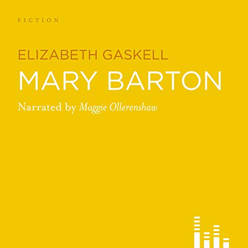 Mary Barton audiobook cover art
