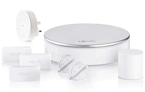 Somfy 2401497A Home Plug and Play Alarm with Smart Connectivity, Includes...