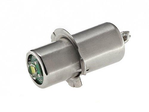EBS-SYSTART GmbH EnLightPro13 – Fahrrad-LED-Birne Stecksockel P13.5s | Fahrradbeleuchtung für Dynamo-Betrieb | Super Heller Ersatz für die Fahrrad-Glühbirne