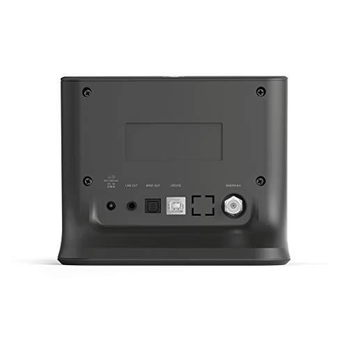 Hama Internetradio-Adapter mit Digitalradio-Empfang zur Nachrüstung von Musikanlagen, DIT1010BT (WLAN/DAB/DAB+/FM, Bluetooth/Spotify Streaming, Radio-Wecker, UNDOK-App) Digital-Receiver schwarz