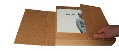 LP Schallplatten Versandkarton für 1-15 LPs Protected (25 Stück)