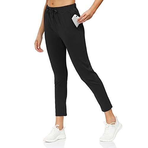 Butrends Pantaloni Sportivi da Donna con Coulisse Pantaloni da Jogging da Allenamento Pantaloni da Corsa Atletici da Trekking Pantaloni Sportivi con Tasche 2-in-1