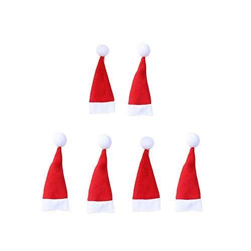 Twocc-Weihnachten, 6Pcsoutil Lagerung Für Weihnachtsmützen