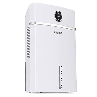 BOSEN Dehumidifier 2300 ml, Portable Air Dehumidifiers, Ultra Quiet Electric Dehumidifier for Home, Double Semiconductor
