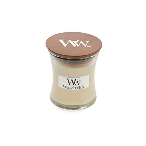 WoodWick Jar Candle (Small) (Vanilla Bean)
