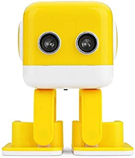 Cloth World Model Wltoys Cubee Rc Robot Toy Smart Tooth Speaker Intelligent Musical Dancing Machine Led Face Desk Kids Gift Gesture Interative Thing You Must Have Favourite