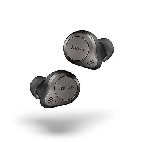 Jabra Elite 85t True Wireless Kopfhörer - Jabra Kopfhörer mit Advanced Active Noise Cancellation und kraftvollen Lautsprechern - Kabelloses Ladegehäuse - titanschwarz