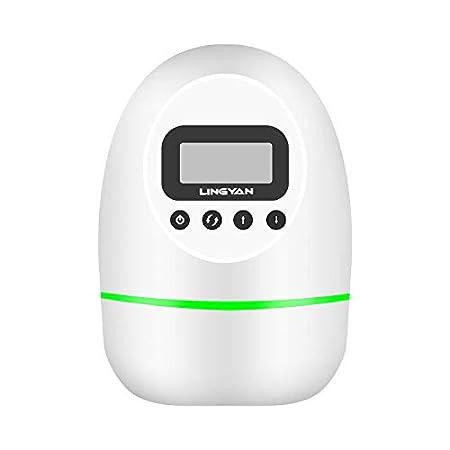 【再販中!】OUMMET 4000mAhバッテリー内蔵USB充電式オゾン脱臭機 1,299円送料無料!【Type-C 充電ケーブル付き】