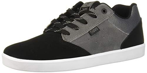 DVS Lutzka+ Chaussures de skate pour homme, noir (Daim noir anthracite.), 45 EU