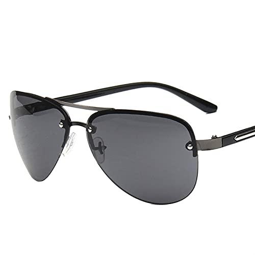 ZHATAOZH Nuevas Gafas de Sol Aviador Gafas de Sol para Hombre Atoño Retro Retro Marco Femme Viajes de Viaje UV400 Gafas de Sol polarizadas Hombres geniales para Mujer Deportes