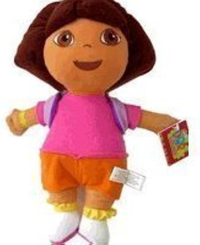 Dora The Explorer Plush Toy  11 Dora Medium Size Stuffed Animal wearing Mr Backpack by Dora the Explorer