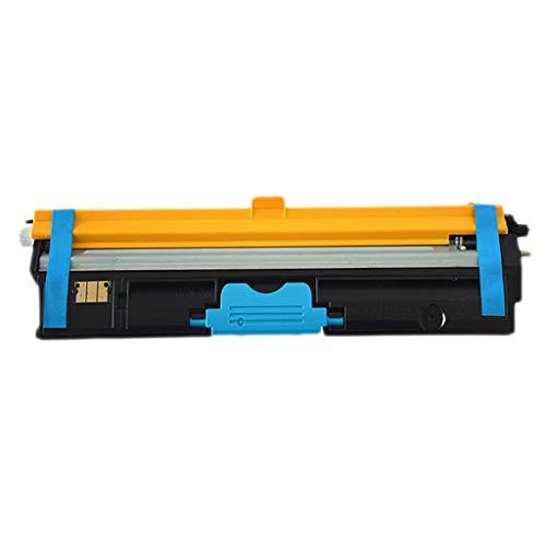Compatible con el Cartucho de tóner Epson C2600 para el Cartucho de Tinta Epson C2600 S050226 27 28 29 Cartucho de tóner con Chip, 4 Colores,Azul
