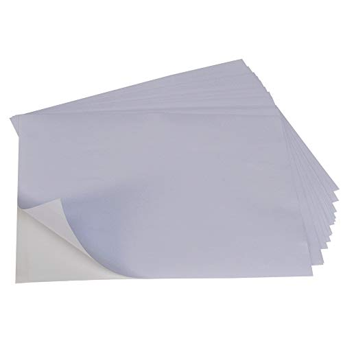 A4 White Self Adhesive Blank Delivery Address Labels...