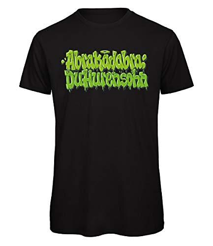 257ers T-Shirt Abrakadabra Du HS, Farbe:schwarz, Größe:S