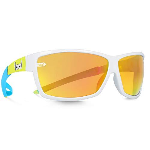 gloryfy unbreakable eyewear G13 neo Green Sonnenbrille, Weiß, Uni