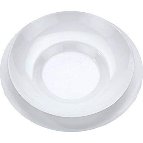 Alessi Sg53s5 Mami Set D'assiettes Composé de: Assiette Plate, Assiette Creuse, Assiette à dessert, Tasse à Thé, Soucoupe Pour Tasse à Thé en Porcelaine Blanche