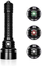 Nitesun DIV15S 26650 Battery 3800 Lumens Handheld Diving Flashlight Mountable Bracket 150m Waterproof Torch Light Camping ...