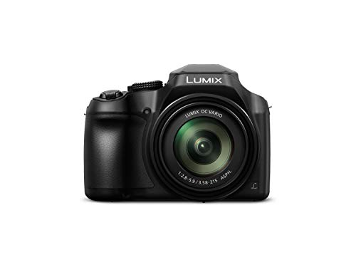 Panasonic LUMIX DC-FZ82EB-K Digital Bridge Camera with Ultra Wide 20-1200 mm Lens -...