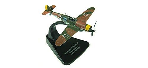'Herpa 81ac010s Messerschmitt BF 109G–JG 7nowotny, Aprile 1945(Senza Ganci a Forma di Croce) Aereo da Caccia
