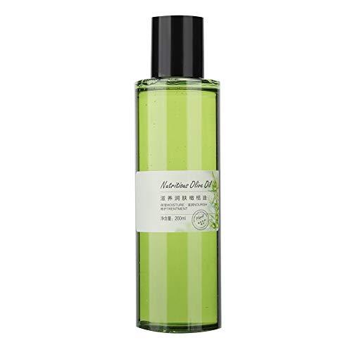 Aceite de oliva nutritivo para pieles secas Masaje corporal Cabello facial Desmaquillante hidratante Agua