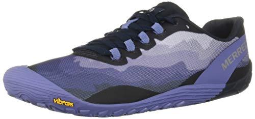 Merrell Vapor Glove 4, Zapatillas Deportivas para Interior para Mujer, Azul (Velvet Morning), 36 EU